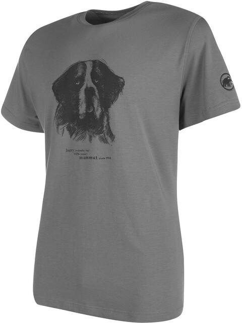Mammut Barryvox t-shirt Heren grijs